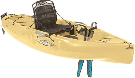 hobie kayak beige
